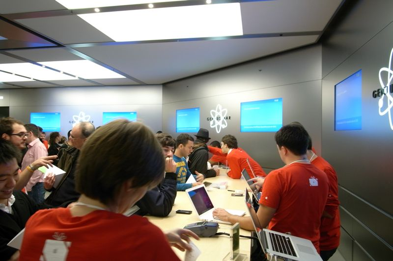 Apple Store, Carrousel du Louvre