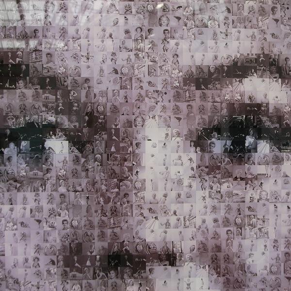 Marilyn Triptych, Robert Silvers, Galerie Maruani & Noirhomme