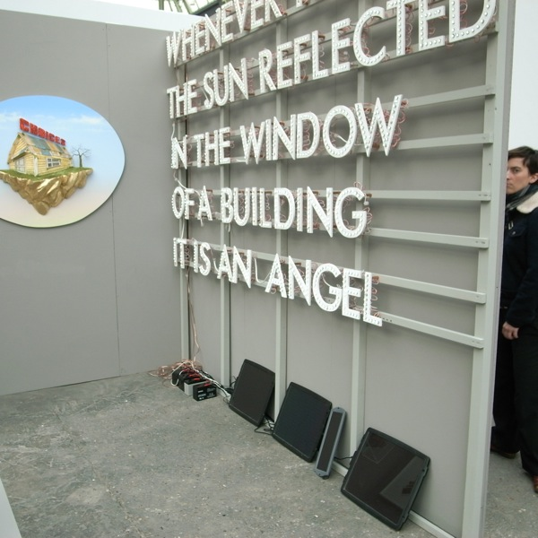 Robert Montgomery, Galerie Nuke, Paris